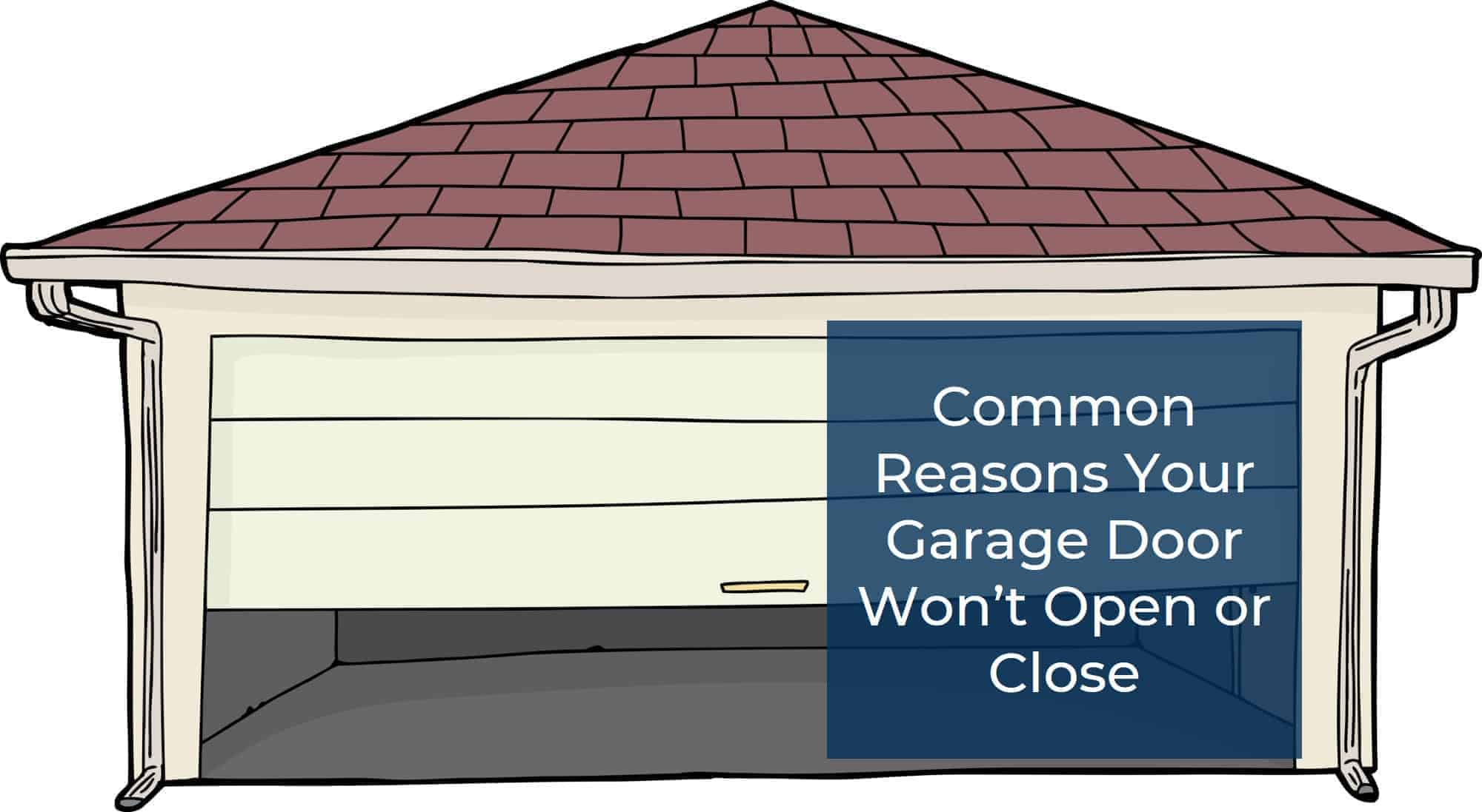 10 Common Reasons Your Automatic Garage Door Won't Work