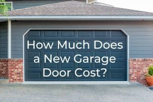 New garage door cost - banner